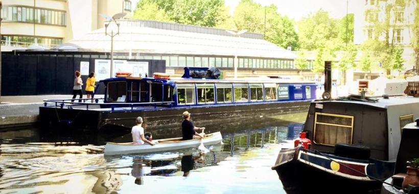 Regent's Canal, Paddington, London