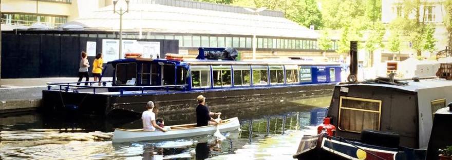 Regent's Canal, Paddington, London