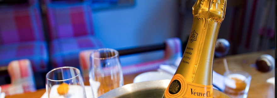 The Veuve Champagne
