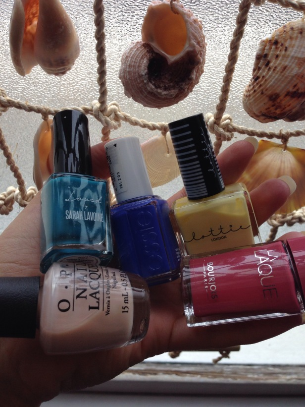 Favourite nail varnishes Bourjois, Lottie London, Essie, OPI
