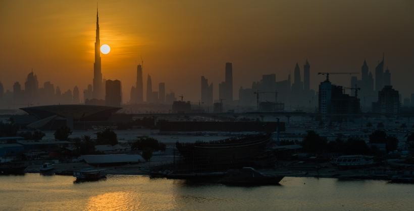 Dubai skyline - Marc Mordant Photography