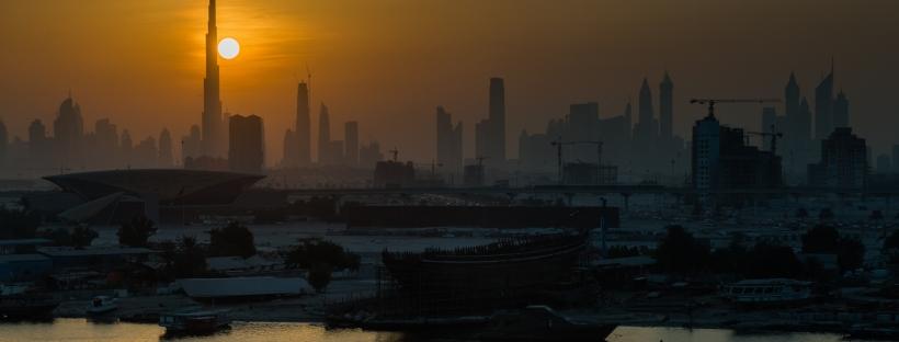 Dubai skyline - Marc Mordant Photography