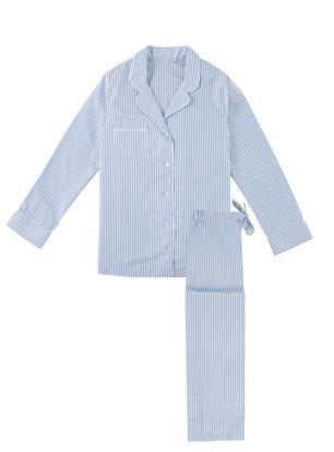 blue-white-stripe-pj