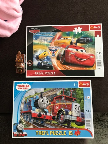 Toddler loves Trefl puzzles